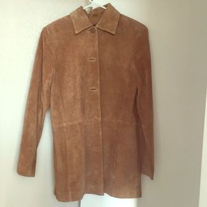 Women's size small suede jacket
